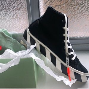 Off White Vulc High Top Sneakers